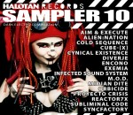VA-Halotan Records Sampler 10 - front cover